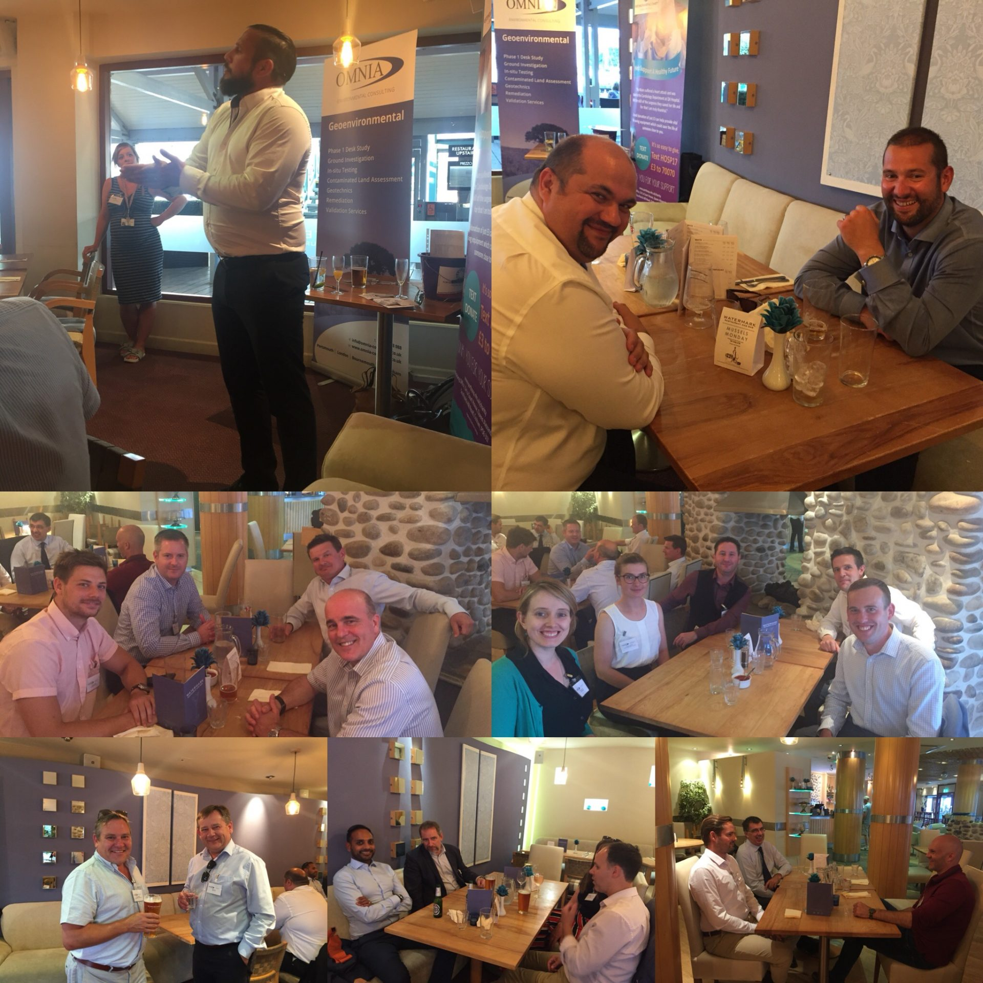P&C Networking Dinner – Portsmouth 18th July 2018