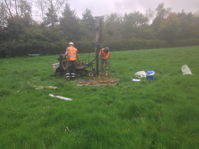 Geotechnical Investigation – Hampshire